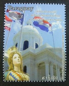 Paraguay-2013-Pantheon-Nationalhelden-Flaggen-Flags-Nationa-Heros-Postfrisch-MNH