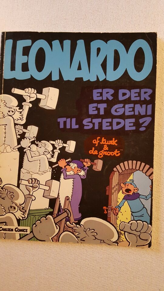 BLANDEDE HÆFTER, Tegneserie