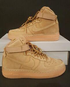 nike air force 1 high lv8 gs flax/flax