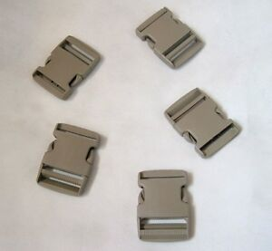 Metal Side Release Buckle 50mm Silver color 1x 2/'/'