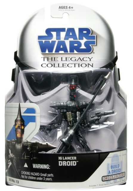 "Star Wars The Legacy Collection IG Lancer Droid 3.75"" Action Figure BD No.13"
