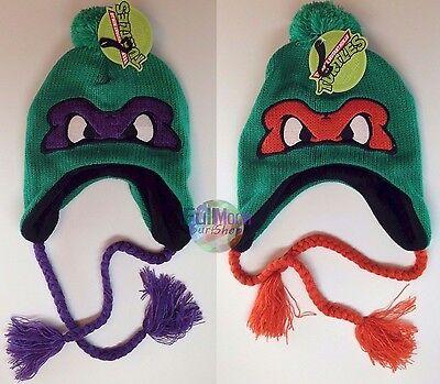 New Teenage Mutant Ninja Turtles Cap Hat Peruvian Beanie