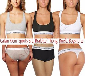 Women Ladies Calvin Klein Underwear Sports Bra or Bralette Hip Brief ... 739665c2b