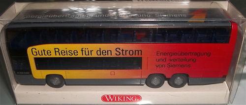 Siemens buena viajes potencia bus o404 veh í hintern publicitario ein escala wiking 1