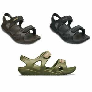ec7ff678cff2 Image is loading Crocs-Swiftwater-River-Mens-Sandals-in-Various-Colours-