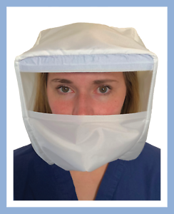 FULL FACE SHIELD PPE AIRPORT AIRPLANE SAFETY PROTECTION FOR MUCUS MEMBRANES USA