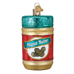 034-Jar-of-Peanut-Butter-034-32352-X-Old-World-Christmas-Glass-Ornament-w-OWC-Box
