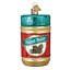 034-Jar-of-Peanut-Butter-034-32352-X-Old-World-Christmas-Glass-Ornament-w-OWC-Box thumbnail 1