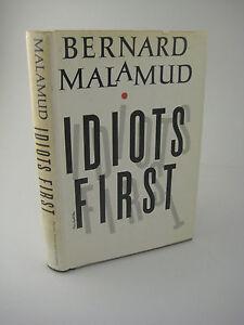 1st-4th-Printing-IDIOTS-FIRST-Bernard-Malamud-RARE-Classic-STORIES