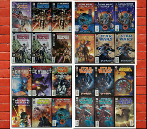 Lot-of-24-Star-Wars-Dark-Horse-Comics-See-Listing-for-Details