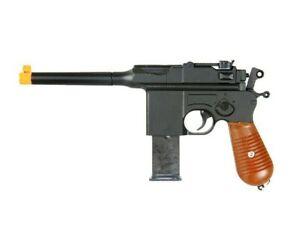 Uk Arms Mauser C96 Mauser Wwii Airsoft Gun G12 Spring Pistol Metal Broomhandle Ebay