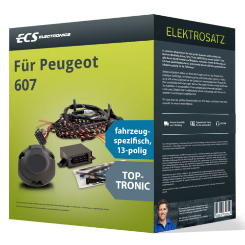 spezifisch NEU ECS Electronics Peugeot 607 Elektrosatz 13-pol