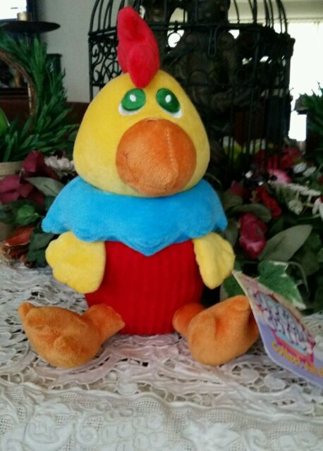Sugar Loaf Cuties Chicken Plush Cupcake Claw Machine -2717