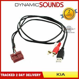 Voiture-OEM-Adaptateur-USB-Autoradio-Cable-pour-Kia-Forte-Optima-Rio-Sedona
