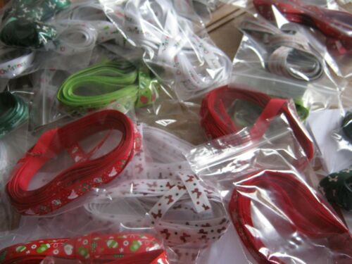 Natural in colour with RED HOLLY LEAVES  *NEW*   1.5cm /& 5mtr CHRISTMAS TAPE!