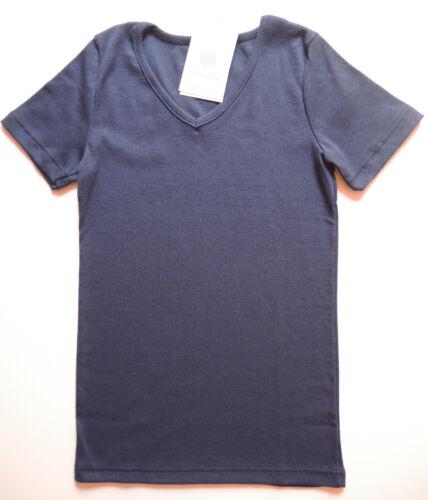 140-176 NUOVO UVP 15,95 Riduce SANETTA Maglietta Camicia giovani Biancheria intima blu tg