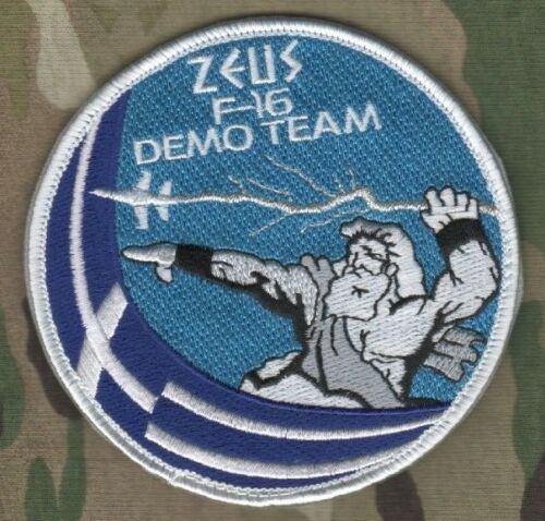 F-16C FIGHTING FALCON HELLENIC AIR FORCE PATCH   GREEK