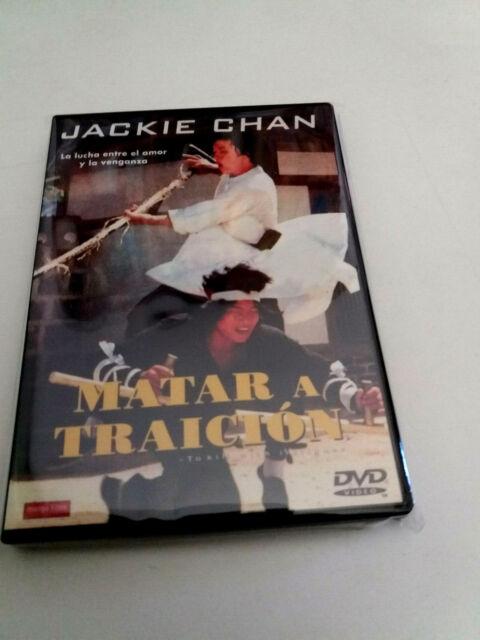 """DVD """"MATAR A TRAICION"""" COMO NUEVO JACKIE CHAN"""