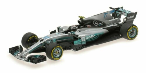 Minichamps Mercedes-AMG Petronas Motorsport V Bottas españa gp 2017 #77 1:43