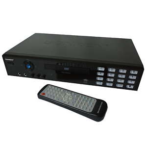SONKEN MD-988 CD+G DVD VCD CD MP3 KARAOKE MACHINE (WORLD ZONED DVD PLAYER)