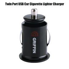 Griffin Dual Port USB Car Cigarette Lighter Charger Adapter Dual Power Socket 5V