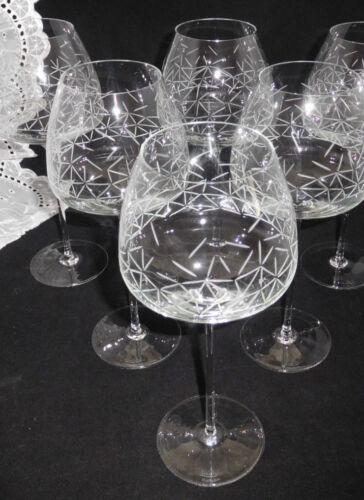 Neu /& Ovp Rosenthal Studio-Line TAC o2 Palazzo  6 x Rotweinglas 25 cm 0,65 L