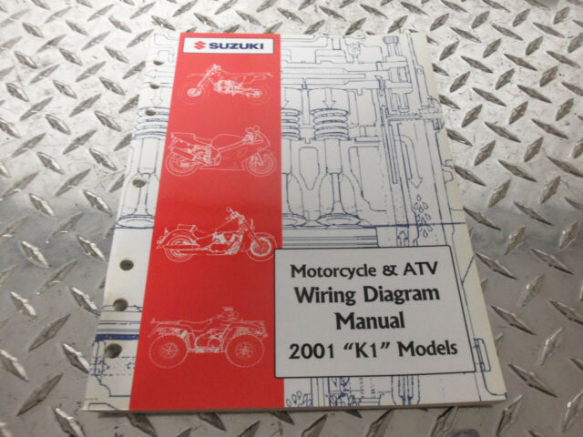 2001 Suzuki Motorcycle  U0026 Atv Wiring Diagram Manual 99923