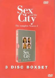 1 of 1 - Sex And The City - Series 2 (DVD, 2002, 3-Disc Set, Box Set)