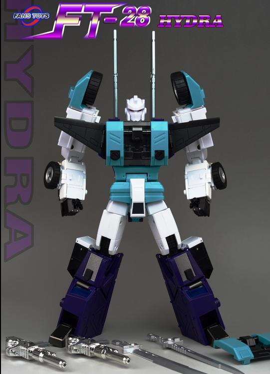 FansToys Transformers cabeza Guerrero FT-28 Hydra seis ante Bestia Ninja personal