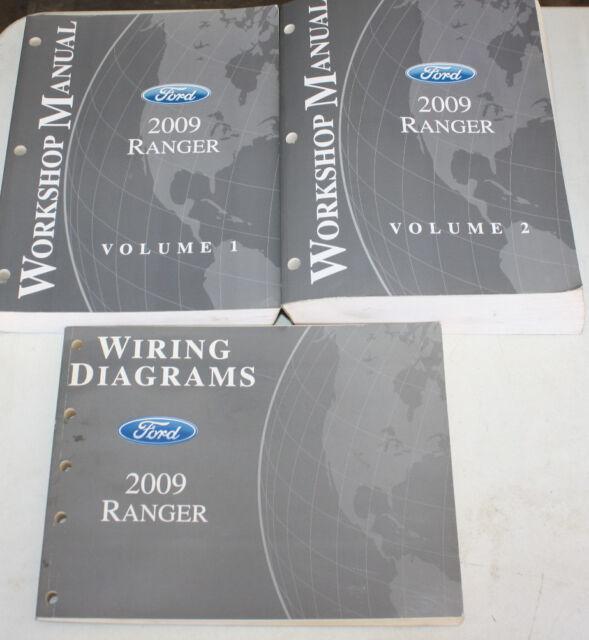 2009 Ford Ranger Service Manual & Wiring Diagram | eBay