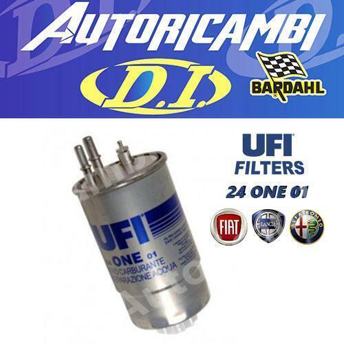 FILTRO GASOLIO UFI 24ONE01  24.ONE.01 ORIGINALE FIAT MOTORI 1.3 1.6 1.9 JTD MJT