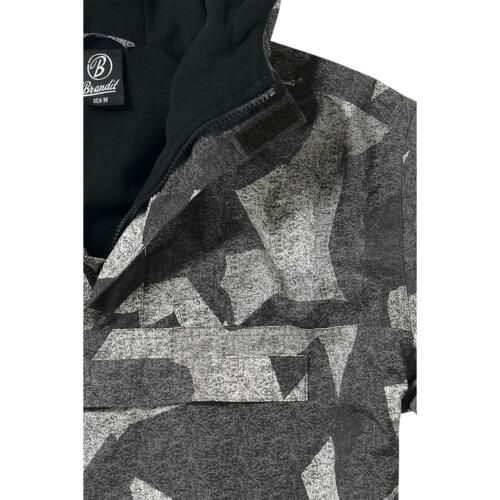 BRANDIT Giubbotto Giacca a vento militare uomo in Pile WINDBREAKER JACKET At-dig