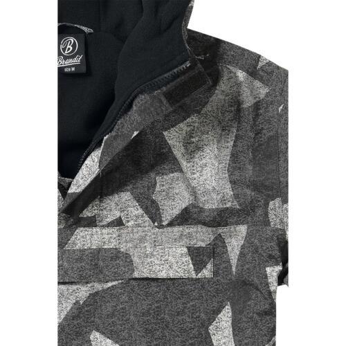 Pile Uomo Giubbotto At Militare dig Jacket Giacca Brandit A Windbreaker In Vento 10S0pq