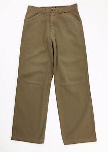 Killer-loop-pantalone-righe-M-46-uomo-gamba-dritta-usato-straight-cargo-T977