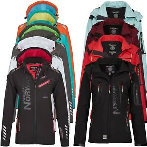 Geographical-Norway-Donna-Softshell-Giacca-Softshell-Outdoor-Pioggia-Giacca-S-XXL