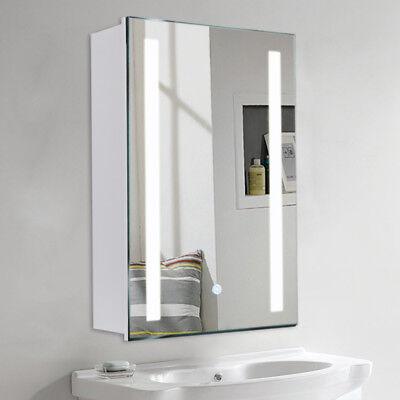 Badzubehör & -textilien Beliebte Marke Led Beheizte Spiegelschrank Ip44 Touchspiegel Badspiegel Steckdose 60/70/80cm De Möbel & Wohnen