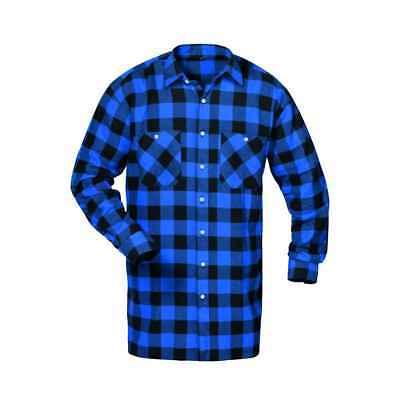 Michigan Flanella-camicia, Boscaiolo Blu/nero A Quadri Taglia M (39/40) - 4xl (49/50)-9/50) It-it Mostra Il Titolo Originale Beneficiale Per Lo Sperma