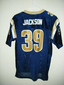 NFL St. Louis Rams Jersey Reebok  39 Steven Jackson Youth Large 14 ... e8ca7c05a