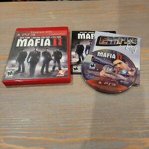 Sony-PS3-Playstation-3-Mafia-II-2-CIB-Greatest-Hits-Complete-2011-2k-Games
