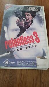 RELENTLESS-3-BLACK-STAR-ROBERT-COSTANZO-RARE-VHS-VIDEO
