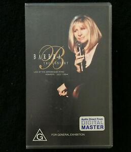 Barbra-Streisand-The-Concert-Live-At-Arrowhead-Pond-Anaheim-1994-VHS-PAL-VIDEO