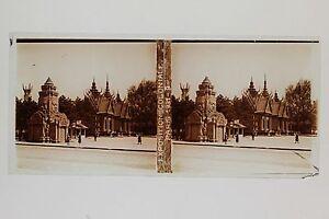 Cambodge-Exposition-coloniale-de-Paris-1931-Stereo-Vintage-Positif