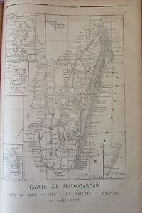 Map-Madagascar-Romani-Princess-Guerre-Holy-Engraving-Petit-Journal-1894