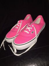 Vans Kids Shoes Hot Pink Youth Sz 2.5 EUC Cute Sneakers