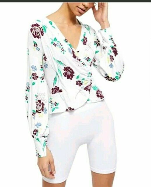 Women/'s NWT Free People Friday Night Long Sleeve Top size M