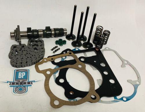 TRX400EX TRX 400EX 400X Valves Springs Cam Timing Chain Top End Head Rebuild Kit