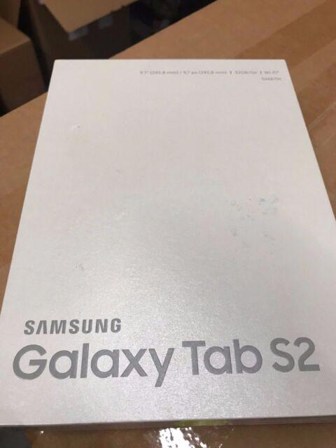 OB Samsung Galaxy Tab S2 SM-T813 32GB, Wi-Fi, 9.7in - Gold