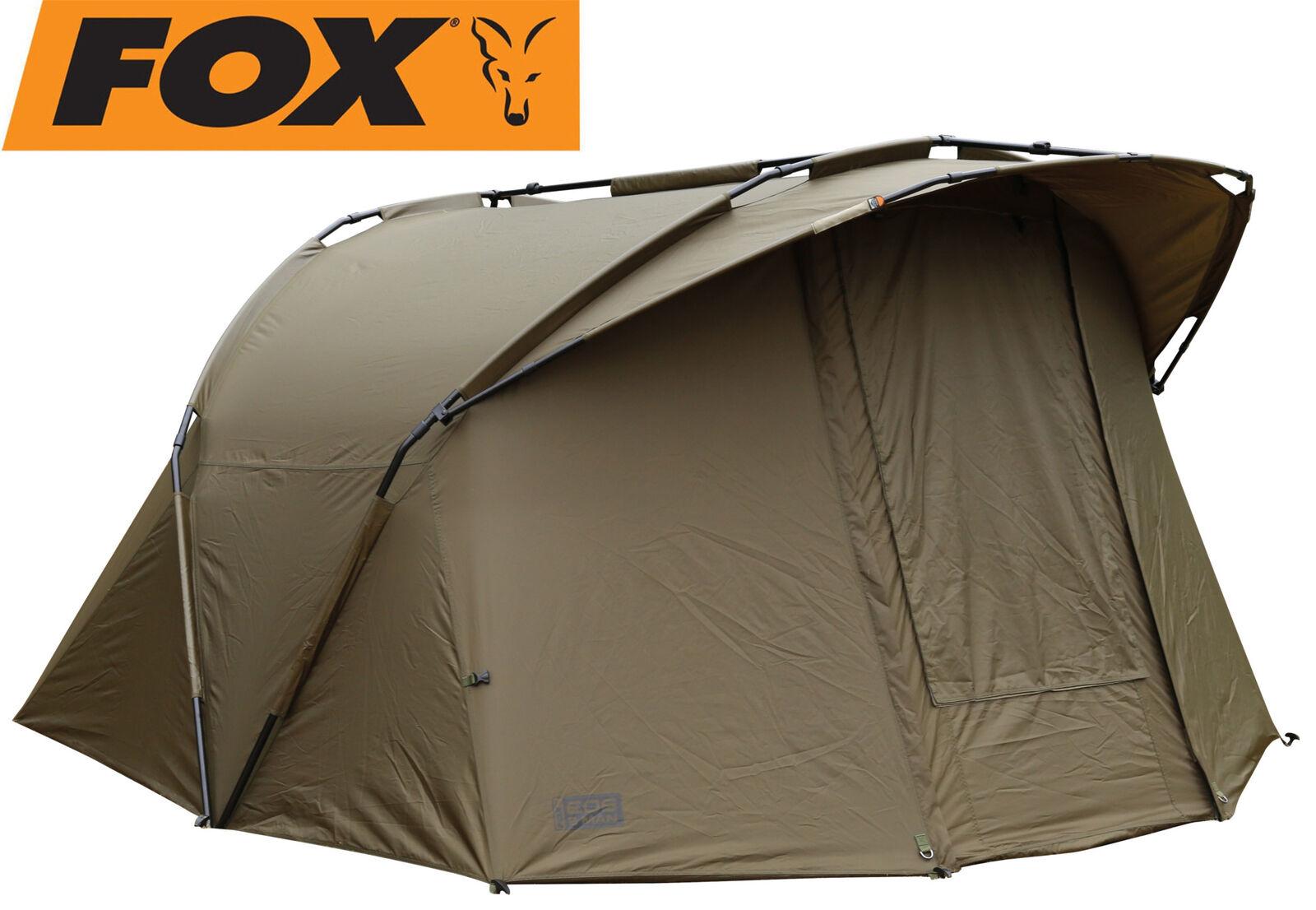 Fox EOS bivvy 2 man man man 275x300x150cm Karpfenzelt zum Nachtangeln, Angelzelt b007df