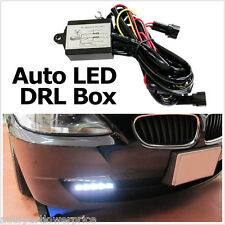 Universal LED Daytime Running Fog Light DRL Relay Harness On Off Controller BOX