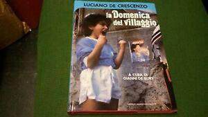 De Crescenzo, La Domenica del Villaggio, 1° ed. Mondadori, 1987, 16mg21